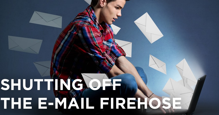 how to overcome e-mail overload